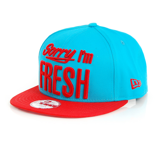 New Era 9Fifty Sorry Iam Fresh Cap Vice Blue - M–L
