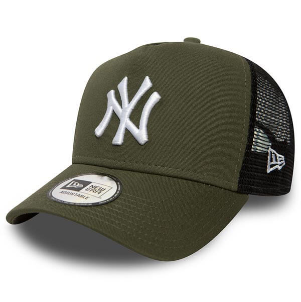 Kšiltovka New Era 9Forty A-Frame League Esential NY Yankees Green - UNI