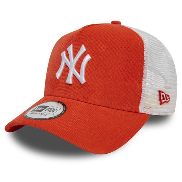 Kšiltovka New Era 9Forty A Frame Trucker Cap NY Yankees Coral Cord Orange -  UNI 0eeb7137cb
