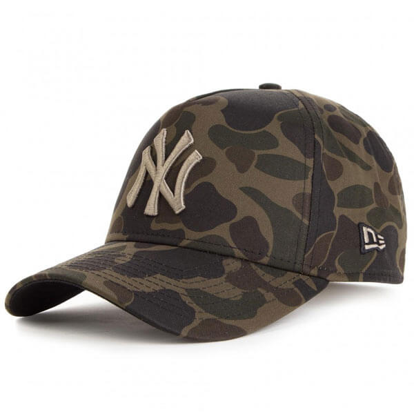Kšiltovka New Era 9Forty Aframe MLB Camo cap NY Yankees