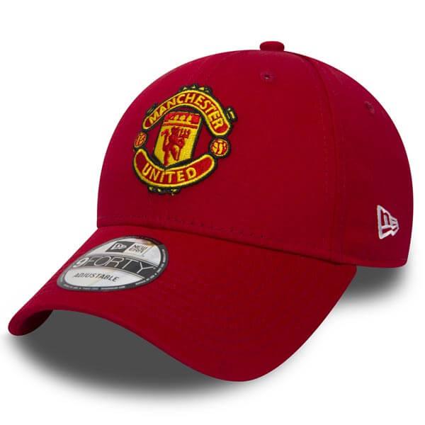 Kšiltovka New Era 9Forty Essential Manchester Untd Red - UNI 341fc264fe