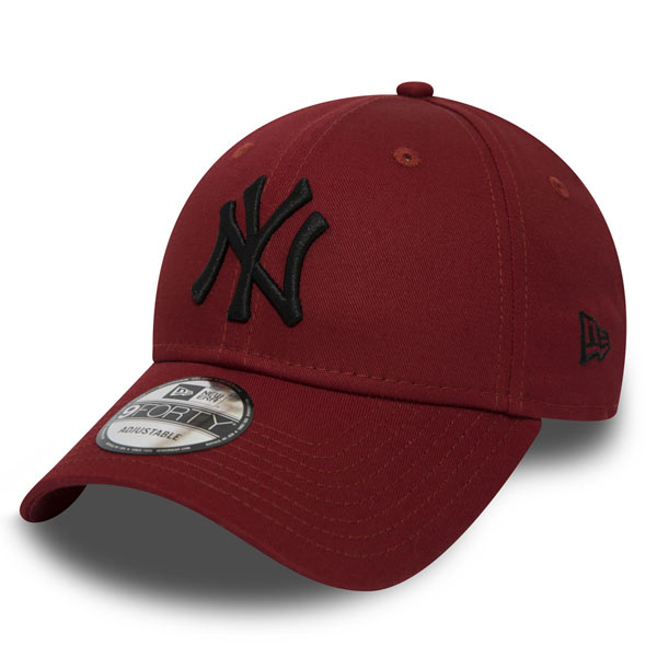 3c491d96154 Kšiltovka New Era 9Forty Essential NY Yankees Cap Hot Red - UNI