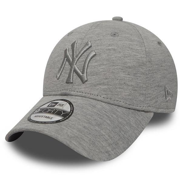 Kšiltovka New Era 9Forty Essential NY Yankees Light Grey