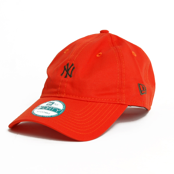 New Era 9Forty Essential NY Yankees Orange - UNI