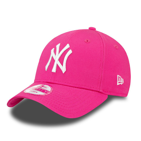 New Era 9Forty Essential NY Yankees Pink White - UNI