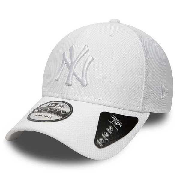 Kšiltovka New Era 9Forty MLB Diamond Era NY Yankees White