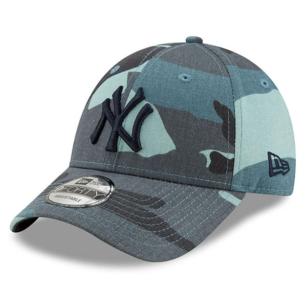 Kšiltovka New Era 9Forty MLB Essential NY Yankees Camo
