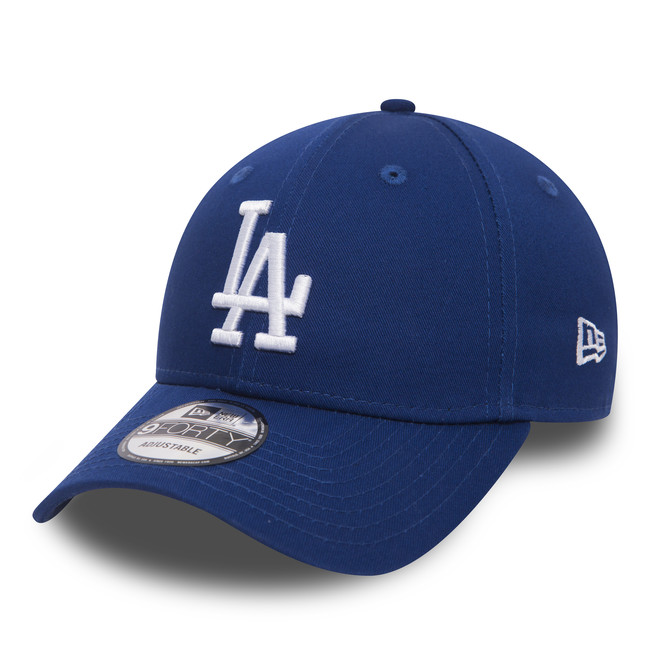 Kšiltovka New Era 9Forty MLB League Basic LA Dodgers Royal White - UNI
