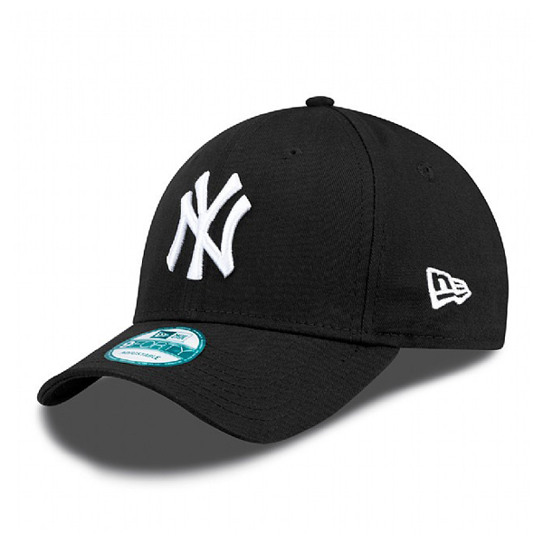 Kšiltovka New Era 9Forty MLB League Basic NY Yankees Black White - UNI
