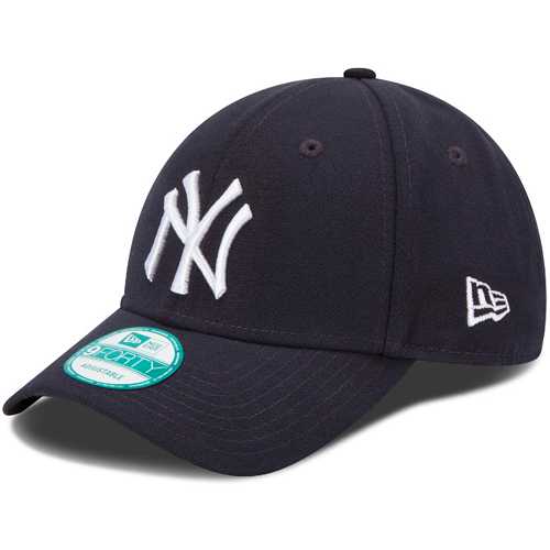 Kšiltovka New Era 9Forty MLB League Basic NY Yankees Navy White - UNI