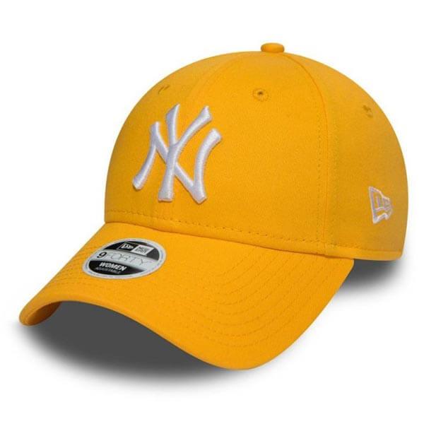 1f51e5bea Kšiltovka New Era 9Forty MLB League Essential Cap NY Yankees Yellow - UNI