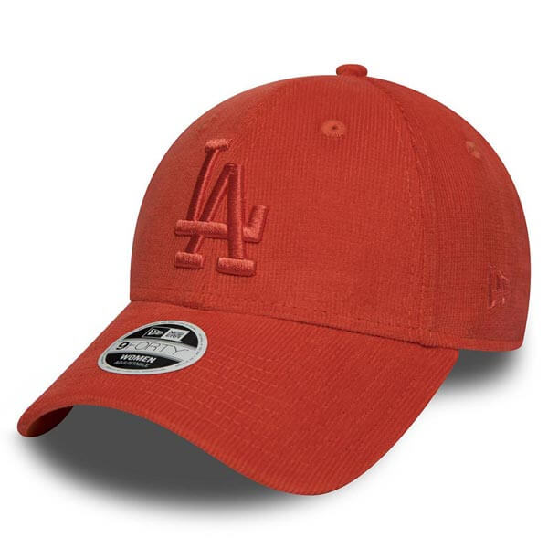 Kšiltovka New Era 9Forty MLB Micro Cord Cap LA Dodgers Orange