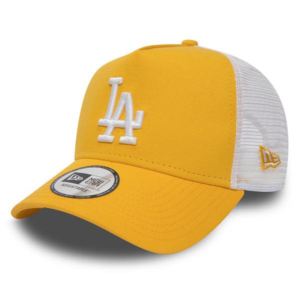ddb5f3f4267 Dámská kšiltovka New Era 9Forty Womens A Frame Trucker LA Dodgers Yellow -  UNI