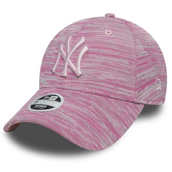 Dámská kšiltovka New Era 9Forty Womens Essential Fit NY Yankees Pink