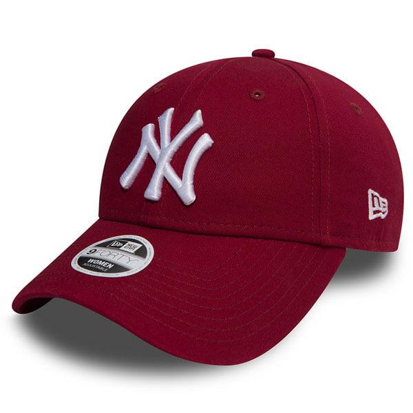 Dámská Kšiltovka New Era 9Forty Womens Essential NY Yankees Cardinal Red -  UNI c44714e9a7