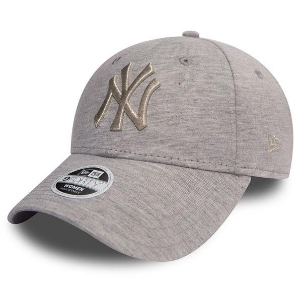 Dámská Kšiltovka New Era 9Forty Womens Essential NY Yankees Grey Jersey - UNI
