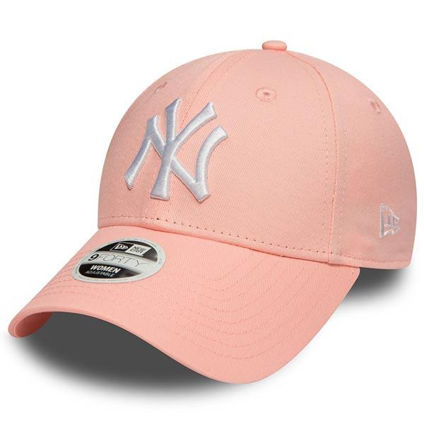 Dámská kšiltovka New Era 9Forty Womens Essential NY Yankees Pink - UNI 2cd4fc645f