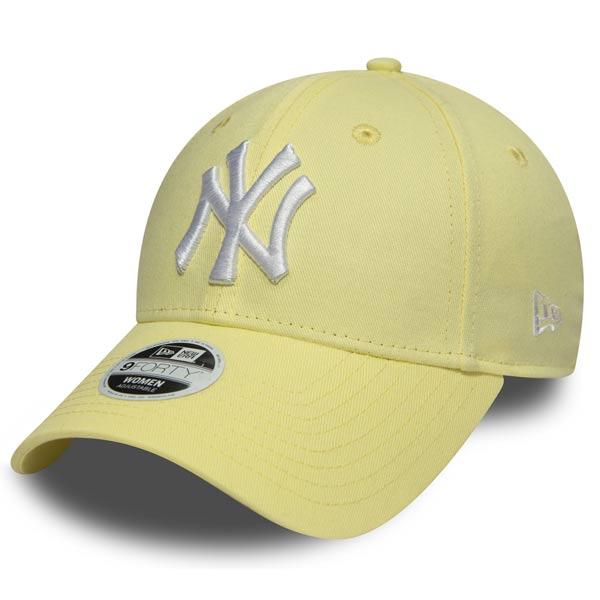 Dámská kšiltovka New Era 9Forty Womens Essential NY Yankees Yellow