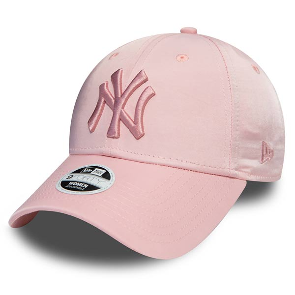736050a4f72 Dámská kšiltovka New Era 9Forty Womens NY Yankees Satin Pink - UNI