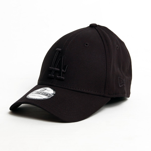 Kšiltovka New Era 9Thirty MLB League Essential LA Dodgers Black Black - M/L