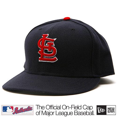 New Era Authentic St. Louis Cardinals Alternate Navy Cap - 7 1/4