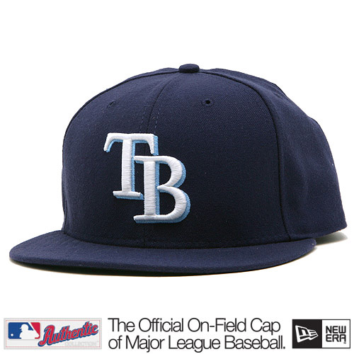 New Era Authentic Tampa Bay Rays - 7 1/4