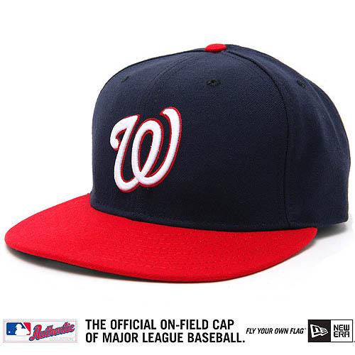 New Era Authentic Washington Nationals Cap - 7 1/8