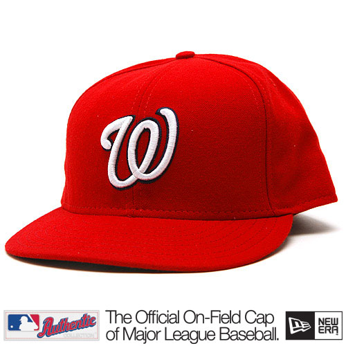 New Era Authentic Washington Nationals GM Cap - 7 1/8