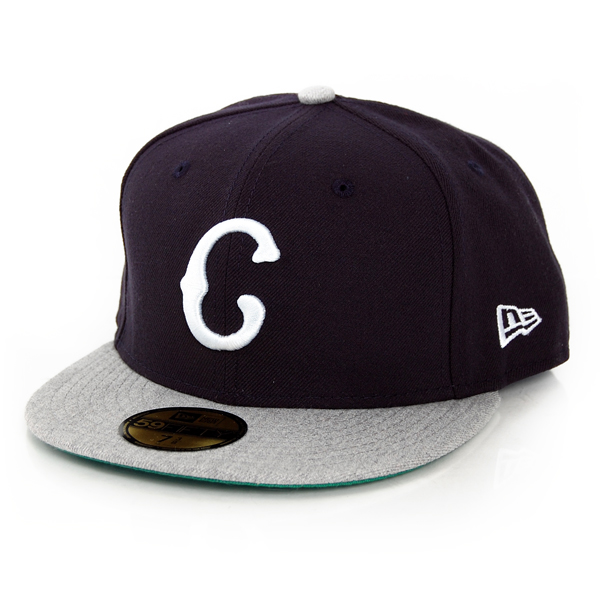 New Era Heathered Out Cleveland Team Grey - 7 1/8