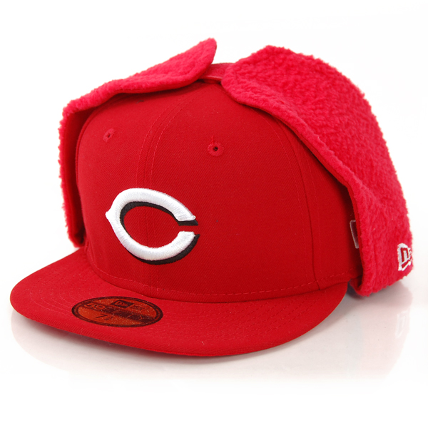 New Era League Basic Cincinnati Dog Ear Cap - 7