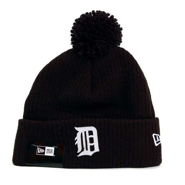 Kulich New Era New Era Lightweight Felt Bobble Detroit Tigers - UNI