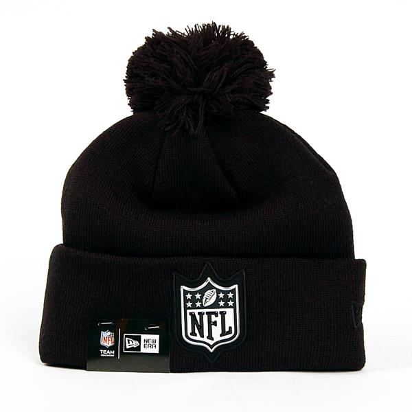 Kulich New Era Logo Shine Bobble NFL Logo Winter Cap - UNI