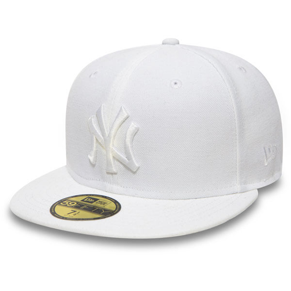 New Era MLB Basic NY Yankees White