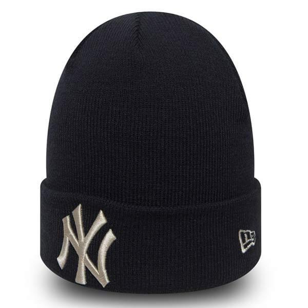 Kulich New Era MLB League Essential Cuff NY Yankees Knit Navy