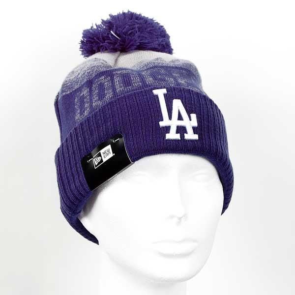 Kulich New Era MLB Sport 2 Cuff LA Dodgers Knit Blue