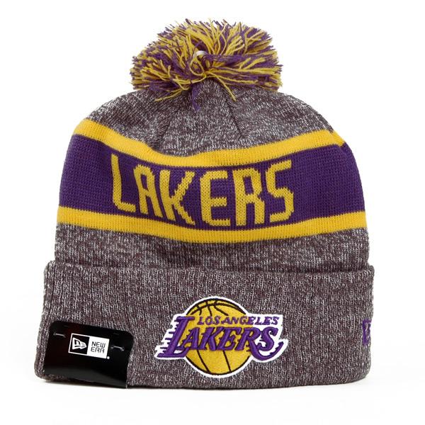 Kulich New Era NBA Marl Knit LA Lakers Grey - UNI