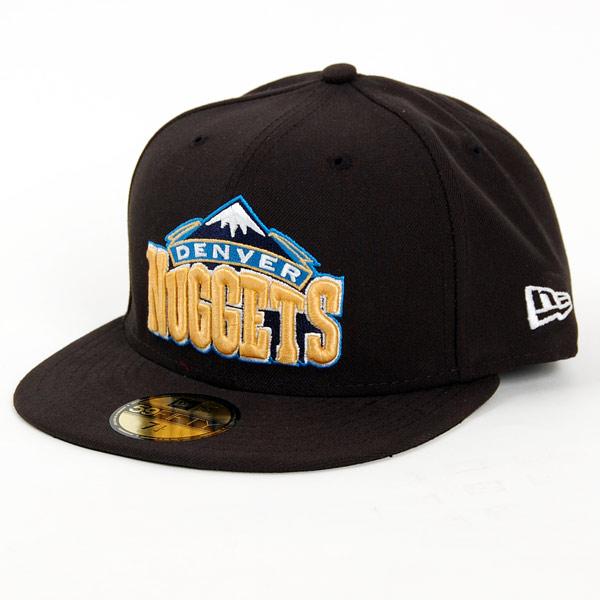 New Era NBA Seasonal Basic Denver Nuggets Cap - 7 1/4