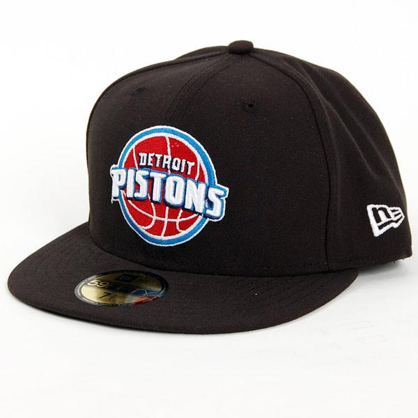 New Era NBA Seasonal Basic Detroit Pistons Cap - 7 1/4