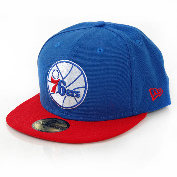 New Era NBA Team Flip 76èrs Cap - 7 1/2