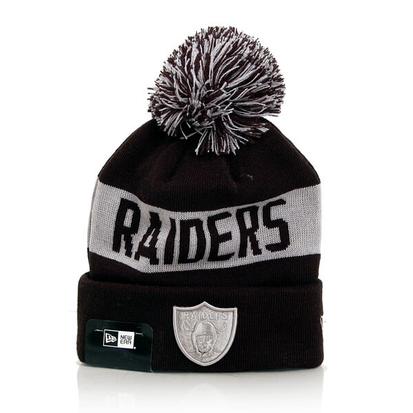 Kulich New Era Team Tonal Knit OAK Raiders Navy Silver - UNI