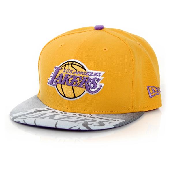 New Era Vizasketch LA Lakers Cap - 7 1/8