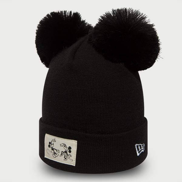 Kulich New Era Womens Disney Cuff Minnie Mouse Black