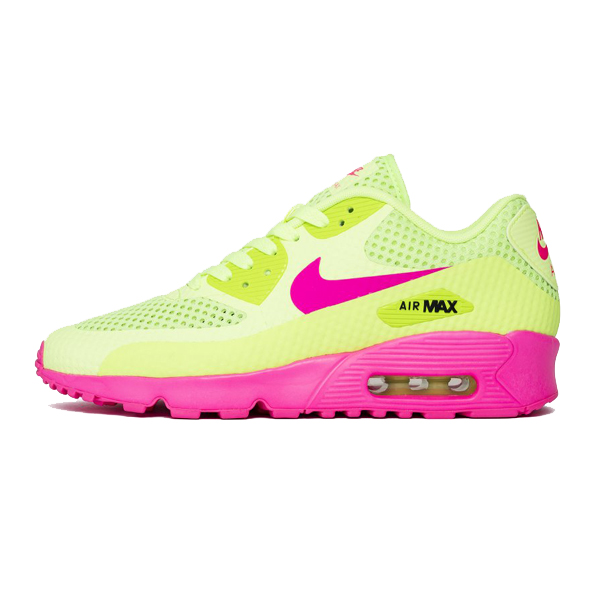 reputable site 2d9d3 b4a64 nike air max classics pink and green eyes