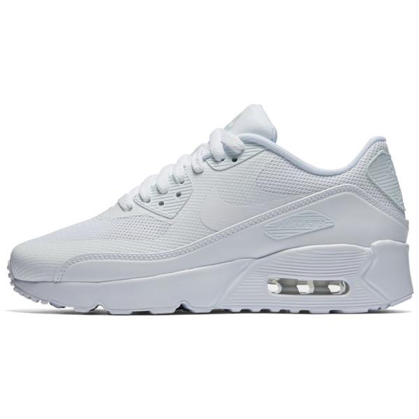 Nike Air Max 90 ULTRA 2.0 (GS) Shoe White White Pure Platinum - 39 - 6.5 - 6 - 24.5 cm