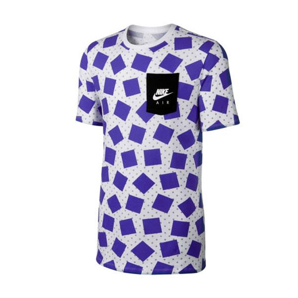 Nike Air Max Print Tee White Wolf Grey Violet 739471-101 ... 5ce37568393