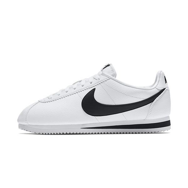 Nike Classic Cortez Leather White Black 749571-100 - 42.5 - 9 - 8 - 27 cm