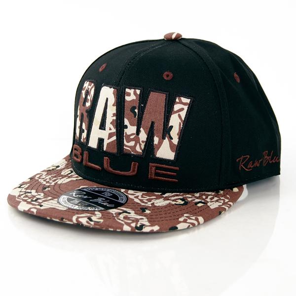 Raw Blue Raw Camo Snapback Black Desert - UNI