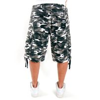 2-Pac Enemy Cargo Shorts White Camo
