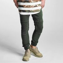 2Y Denim Chino Pants Olive