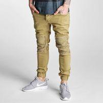 2Y Denim Jogger Slim Fit Jeans Beige